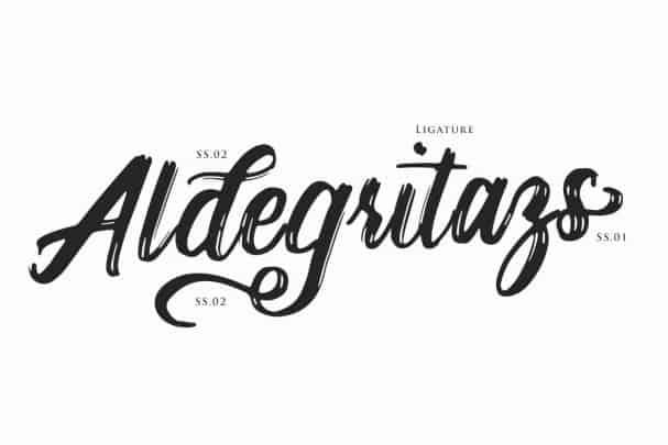 Bogart Script шрифт скачать бесплатно