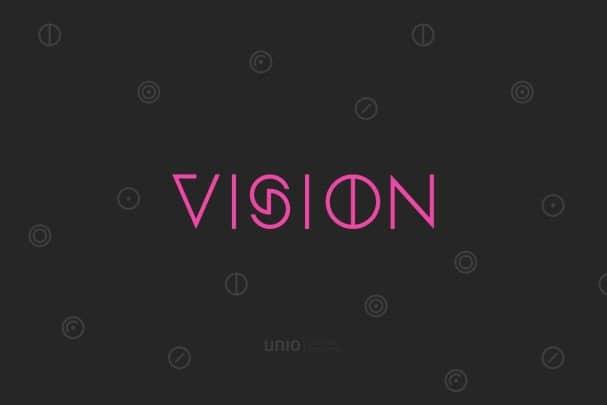 Vision - Font Family шрифт скачать бесплатно