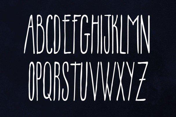 Flush Font шрифт скачать бесплатно