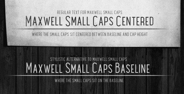 Maxwell Sans Demi Bold шрифт скачать бесплатно