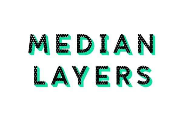 Median Layer шрифт скачать бесплатно