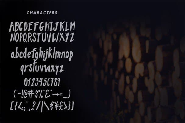Pinebrick Typeface шрифт скачать бесплатно
