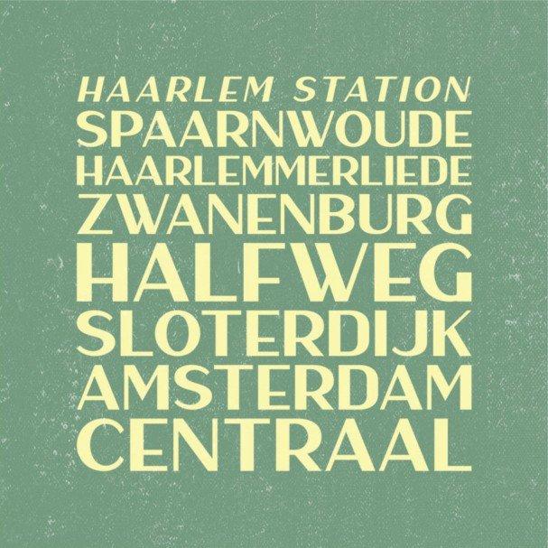 Haarlem Sans шрифт скачать бесплатно