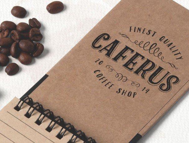 Caferus шрифт скачать бесплатно