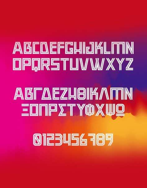 Rekt шрифт скачать бесплатно
