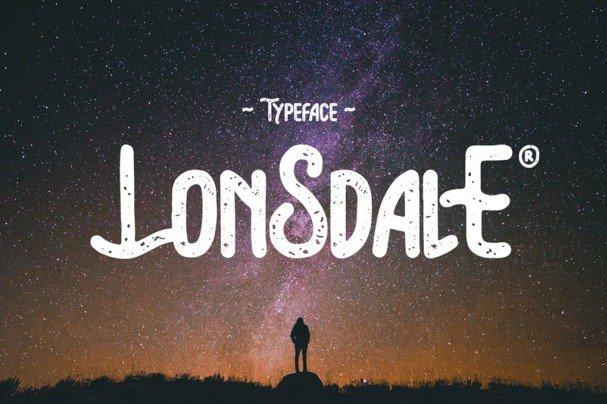 Lonsdale Typeface шрифт скачать бесплатно