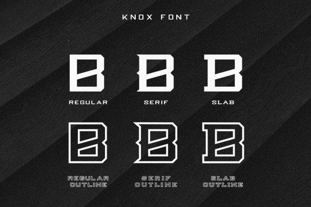 Knox шрифт скачать бесплатно