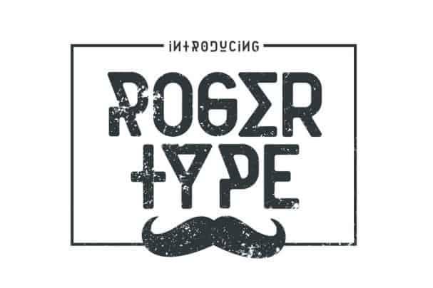 Rogertype шрифт скачать бесплатно