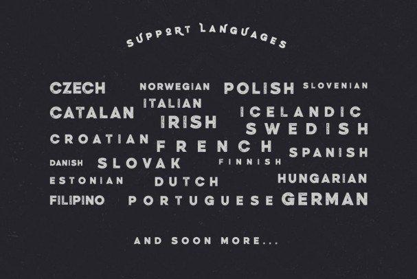 Weisshorn Typeface шрифт скачать бесплатно