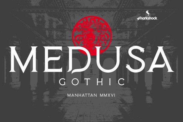 Medusa Gothic шрифт скачать бесплатно