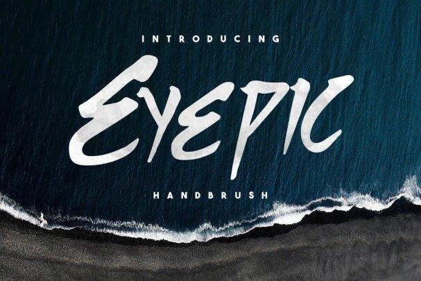 Eyepic Typeface шрифт скачать бесплатно
