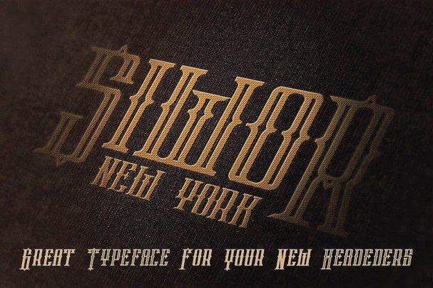 Phoenix Typeface шрифт скачать бесплатно