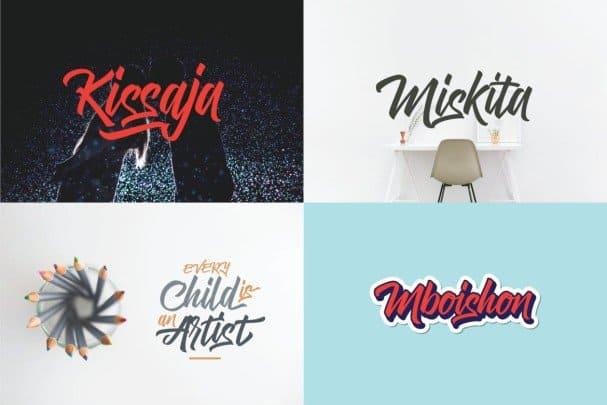 SokaQola Font шрифт скачать бесплатно