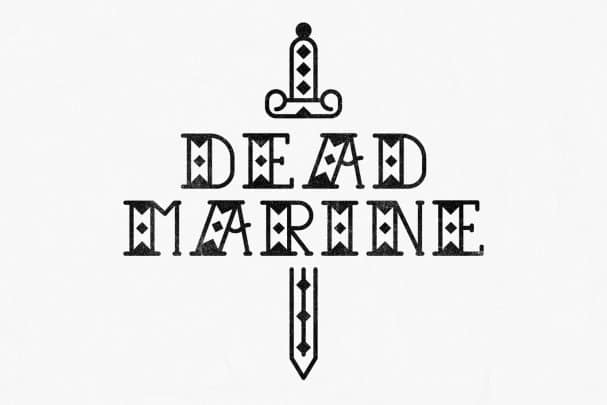 Dead Marine шрифт скачать бесплатно