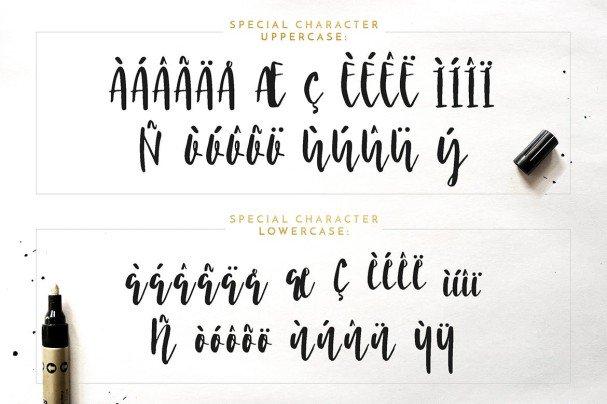 Nicoline шрифт скачать бесплатно