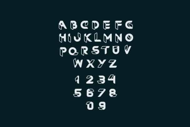 RibOne font шрифт скачать бесплатно