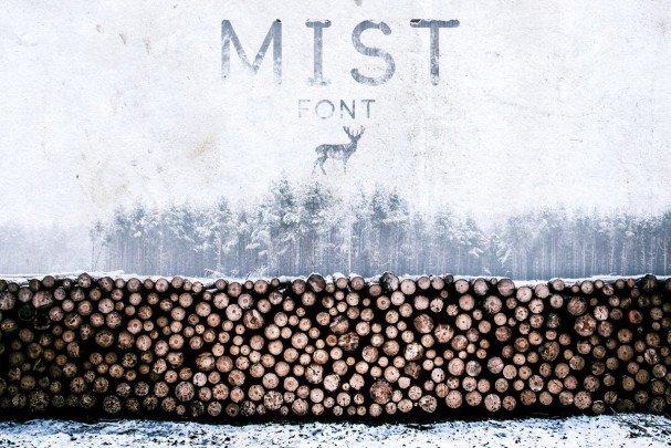Mist Font шрифт скачать бесплатно