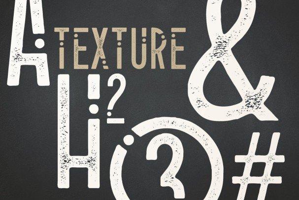Alioli Texture   шрифт скачать бесплатно