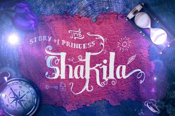 Shakila шрифт скачать бесплатно