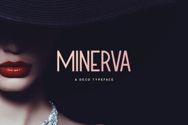 Minerva Typeface шрифт скачать бесплатно