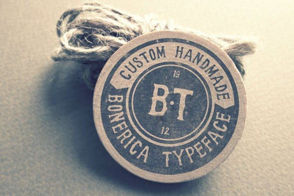 Bonerica Typeface шрифт скачать бесплатно