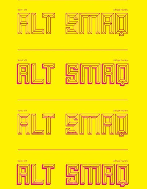 Smaq шрифт скачать бесплатно