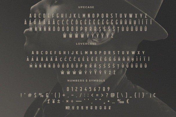 Flathead Typeface шрифт скачать бесплатно