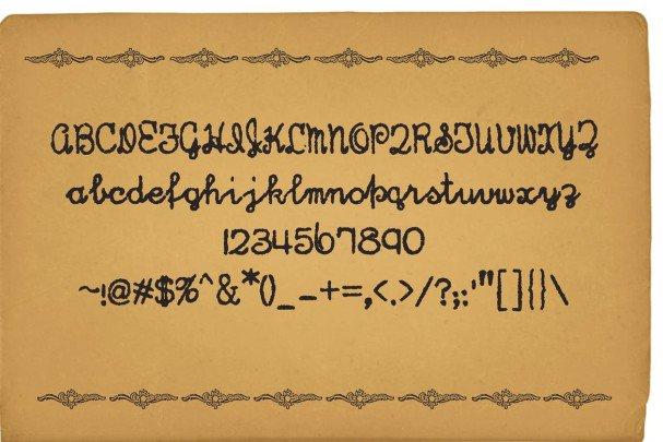 Hand Writer шрифт скачать бесплатно