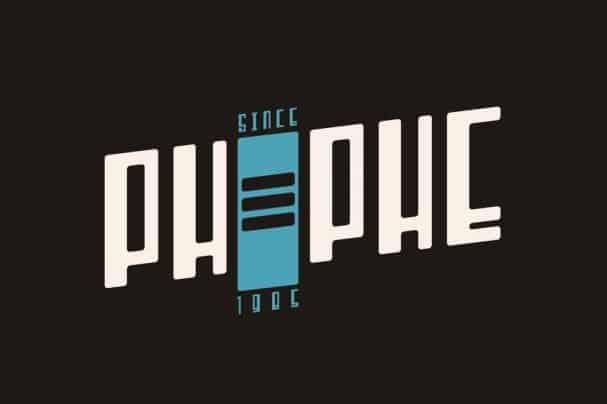 Phephe шрифт скачать бесплатно