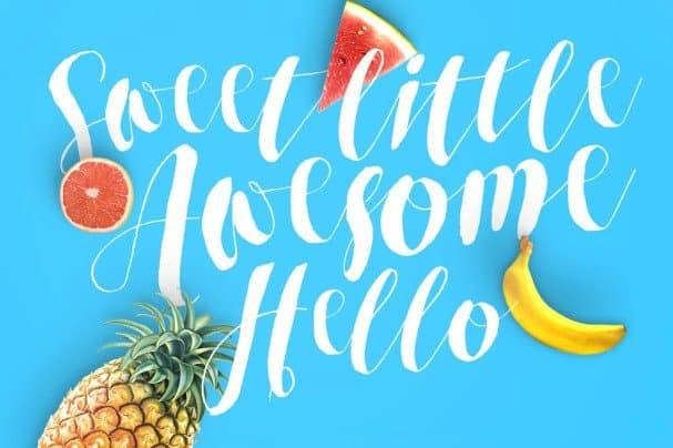 Roselowe Typeface шрифт скачать бесплатно