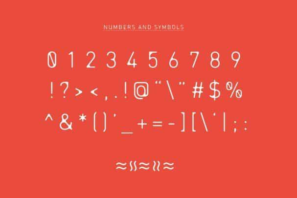 ENTRA Font шрифт скачать бесплатно
