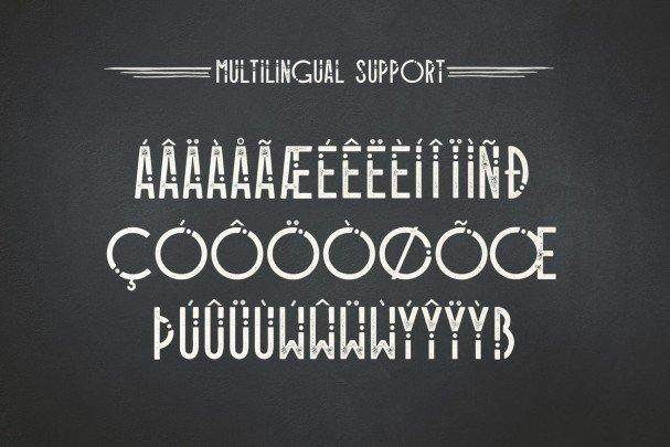 Alioli Texture Font шрифт скачать бесплатно