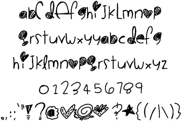 CookieMonster шрифт скачать бесплатно