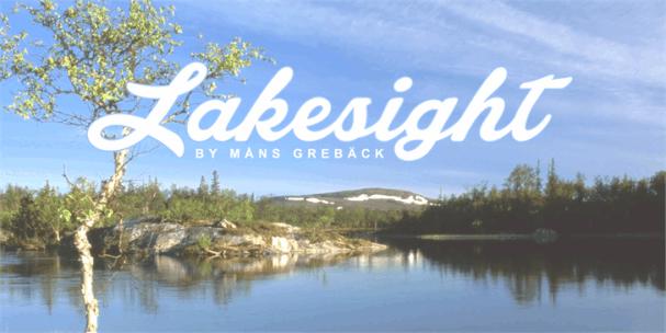Lakesight шрифт скачать бесплатно