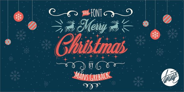 Merry Christmas шрифт скачать бесплатно