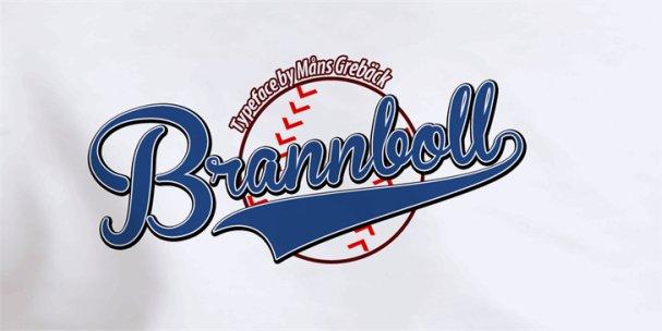 Brannboll Fet шрифт скачать бесплатно