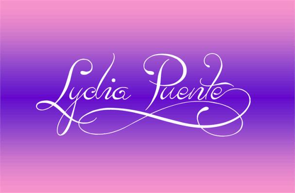 Lydia Puente шрифт скачать бесплатно