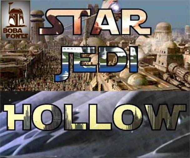 Star Jedi шрифт скачать бесплатно