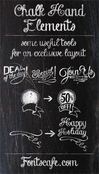 Chalk-hand-lettering-shaded шрифт скачать бесплатно