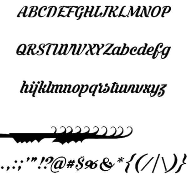 Krinkes шрифт скачать бесплатно