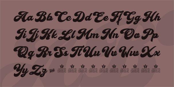 Cherry and Kisses шрифт скачать бесплатно