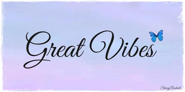 Great Vibes font шрифт скачать бесплатно
