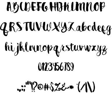 Destain шрифт скачать бесплатно