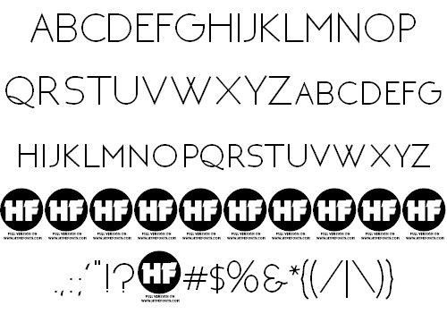 NEOTERIC шрифт скачать бесплатно