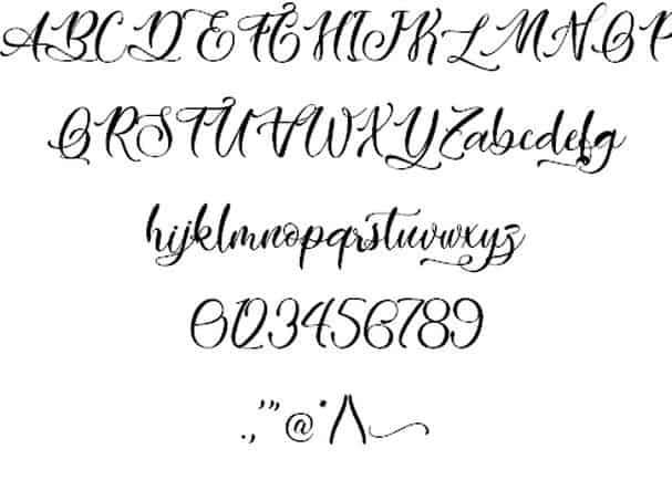 Easy November font шрифт скачать бесплатно