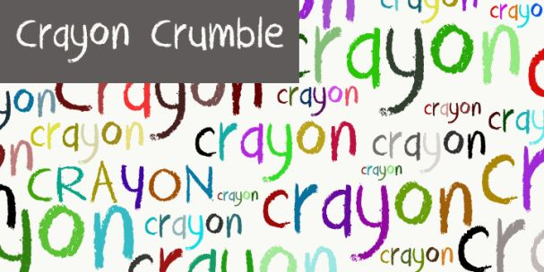 DK Crayon Crumble font шрифт скачать бесплатно