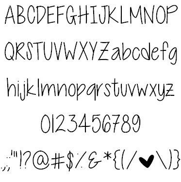 Cutie Patootie шрифт скачать бесплатно