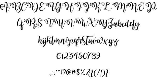 Watermelon Script шрифт скачать бесплатно