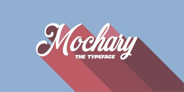 Mochary шрифт скачать бесплатно