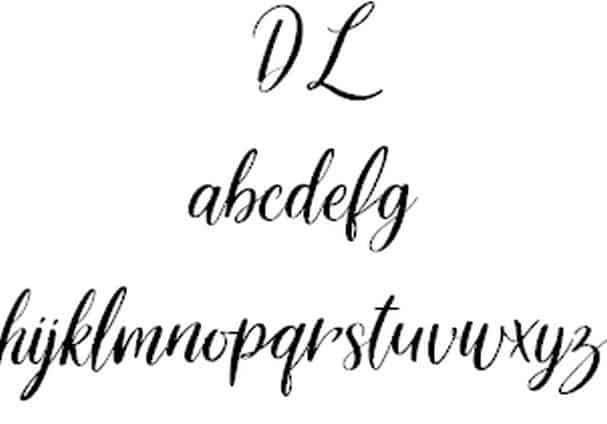 Delight Lettering шрифт скачать бесплатно